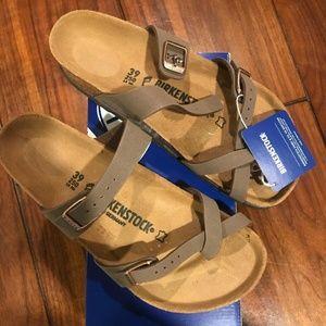 Birkenstock Mayari Sandals Mocca Color Imported